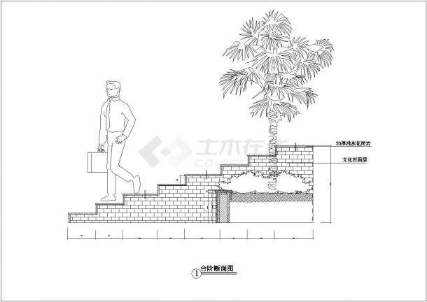 【毫州】某地华汇康城小区全套景观施工设计cad图纸(含灯位总图)-图二