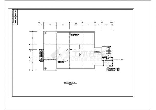恩平江洲目标局消防自动报警系统CAD建筑设计施工图-图一