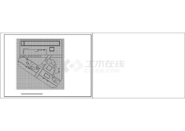 【六安】某花园精品小区全套景观施工设计cad图纸(含效果图)-图一