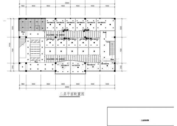 经典咖啡吧及西餐厅室内装修设计cad详细方案图(含多套设计)-图一