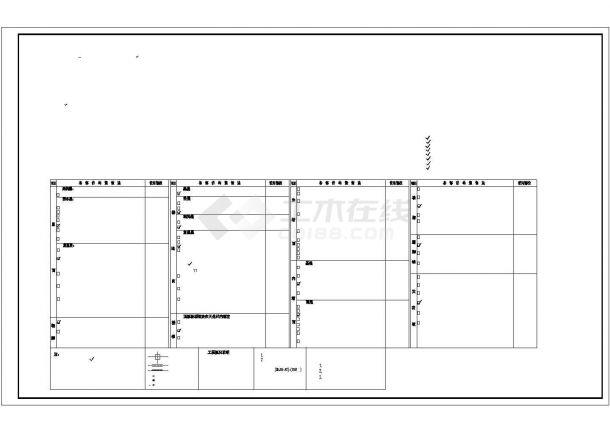 厂房设计_4层5000平米厂房建筑施工图【平立剖 总平 目录 说明】CAD设计施工图纸-图一
