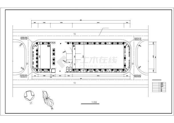 厂房设计_4层5000平米厂房建筑施工图【平立剖 总平 目录 说明】CAD设计施工图纸-图二