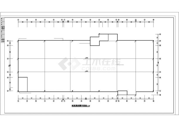 厂房设计_四层重型厂房电气施工图纸.cad-图一
