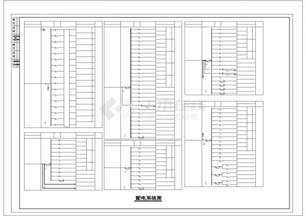 厂房设计_四层重型厂房电气施工图纸.cad-图二