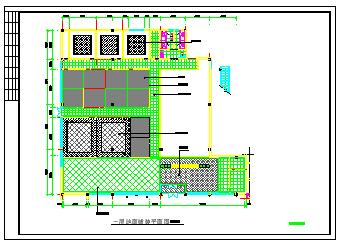 饭店餐厅室内装修设计cad立面施工图-图二