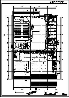 某地上八层地下二层综合楼全套电气施工cad图(含高、低压配电,照明配电系统设计)-图一