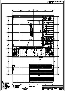 某地上八层地下二层综合楼全套电气施工cad图(含高、低压配电,照明配电系统设计)-图二