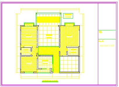 家居装修工程室内设计cad立面施工图-图二
