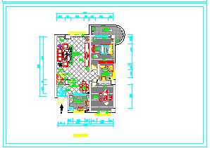经典室内装修cad立面施工图纸-图二