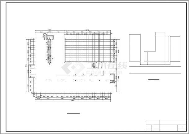 某3413.34平米六层CAD框架综合办公楼毕业设计(结构计算书、工程量计算表、预算书、CAD图纸11张)-图一