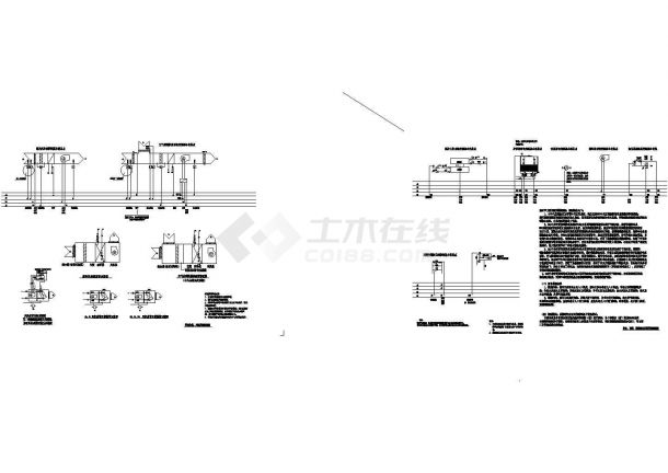 [施工图][广东]超高层商业办公综合楼暖通空调系统cad施工图-图一