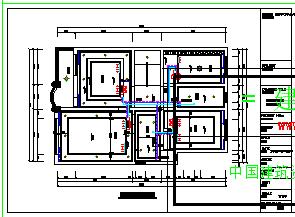某别墅多联机空调cad平面设计图-图二