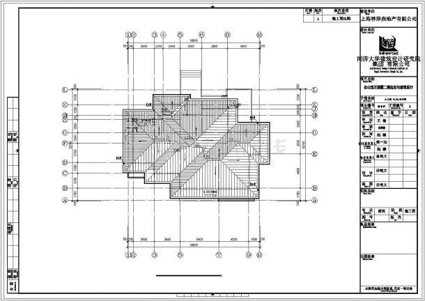成都某小区512平米两栋双层砖混结构高档单体别墅建筑设计CAD图纸-图一
