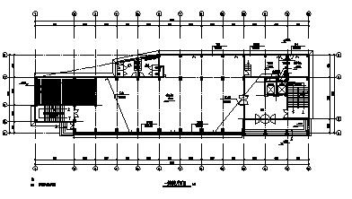 某地上十层带地下一层车库综合楼电气施工cad图(含弱电,照明,消防设计)-图二
