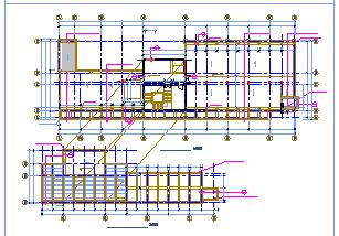 某多层办公楼详细方案CAD建筑施工图-图二
