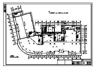 某十一层综合楼电气施工cad图(含消防,照明设计)-图二
