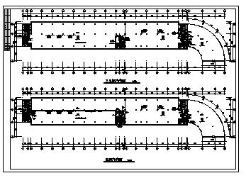 某局部六层综合楼电气施工cad图(照明,供配电,空调,电话,电视,宽带网设计)-图一