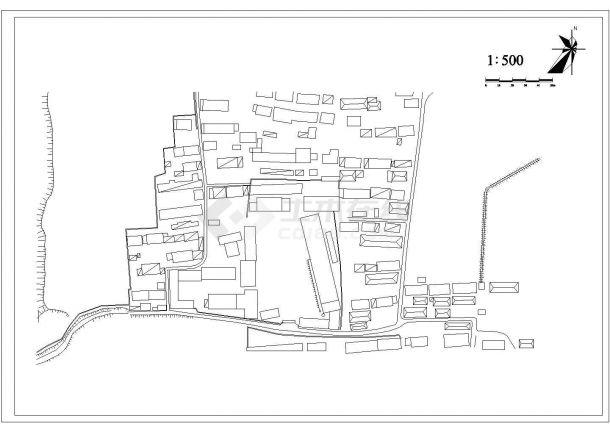 深圳市某大学附属中学校区总平面规划设计CAD图纸(共建筑1万平米)-图一