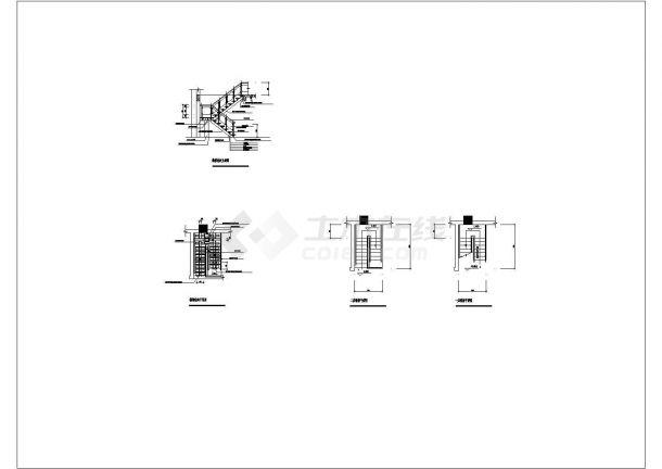 钢结构楼梯CAD图纸设计-图一