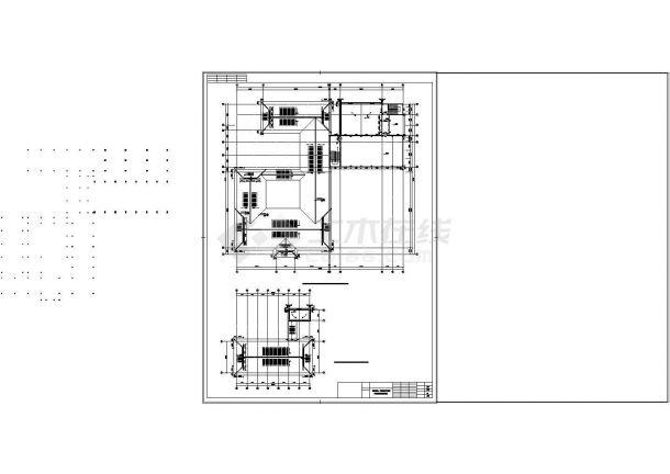 某农庄仿古建筑cad设计施工图纸-图二