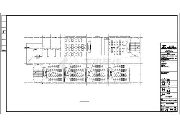 兰州市银河小学4080平米4层框架结构教学楼全套建筑设计CAD图纸-图二
