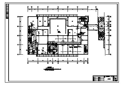 某五层酒店综合楼电气施工cad图(含照明,弱电设计)-图一