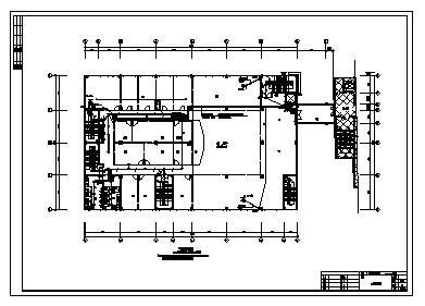 某五层酒店综合楼电气施工cad图(含照明,弱电设计)-图二