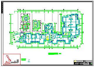某商务大楼防雷措施cad施工设计图纸-图一
