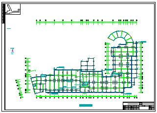 某商务大楼防雷措施cad施工设计图纸-图二