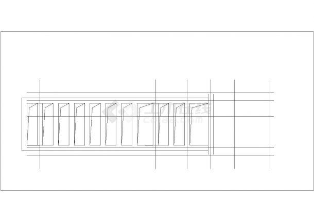 清镇市某实验小学 20平米单层砖混结构门卫室建筑设计CAD图纸-图一