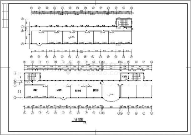 某活动中心广场CAD全套设计构造大样图纸-图一