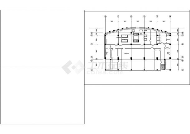 某住宅地下室中央空调全套设计施工cad图纸-图一