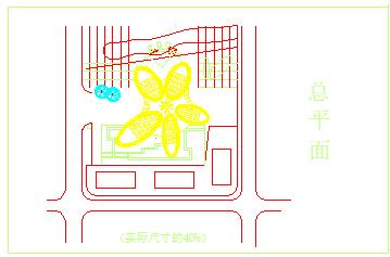 某市二层急救中心cad建筑方案设计图-图一