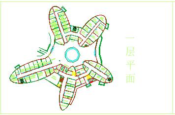 某市二层急救中心cad建筑方案设计图-图二