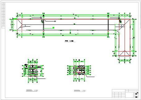 某市二层敬老院cad建筑方案设计图-图二
