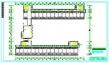 某市公司宿舍楼cad全套空调设计图纸-图二
