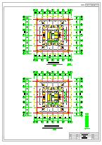 某市金马高层大厦CAD建筑方案设计图及效果图-图一