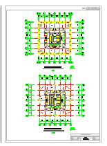 某市金马高层大厦CAD建筑方案设计图及效果图-图二