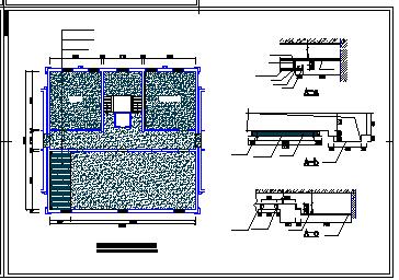 办公楼室内装饰工程施工图纸-图一