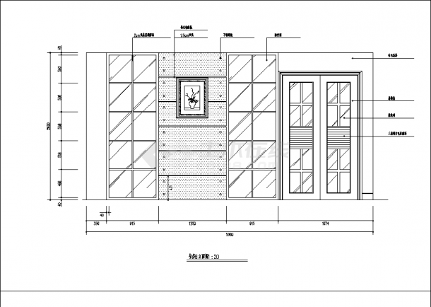 2套豪华别墅精装修设计建筑施工cad图纸-图一