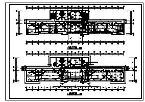 某地上四层办公楼电气施工cad图(含供配电,照明,防雷接地系统设计)-图一