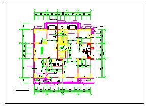 现代化多层住宅CAD建筑平立面图纸-图一