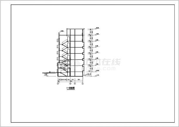 航运新村高层住宅建筑6设计全套施工cad图-图一