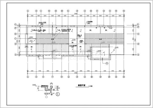 江苏3A总图小区全套建筑设计全套施工cad图-图一