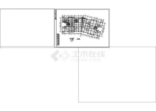 东莞某花园框架结构设计CAD施工图-图二