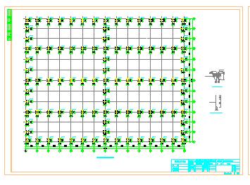 钢结构厂房建筑结构水电设计施工图纸全套-图二
