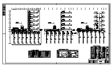 某市科技公司综合办公楼电气施工cad图(含照明,插座设计)-图二