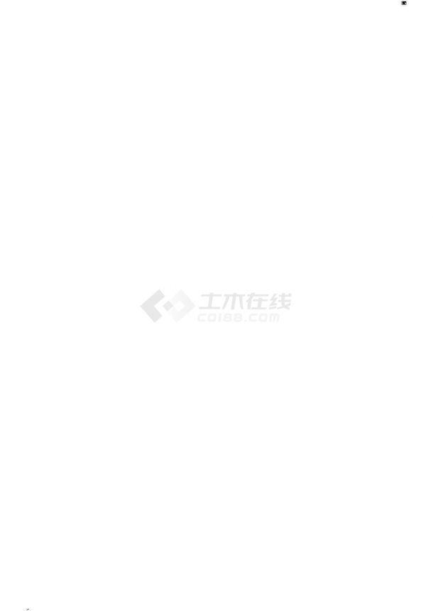 宁波市城南国际小区总平面规划设计CAD图纸(占地2公顷)-图一