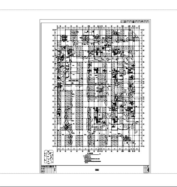2套某国际商贸中心通风空调及防排烟设计施工cad图纸-图一