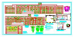 高级中学大学教学楼综合楼电气施工图整套-图二